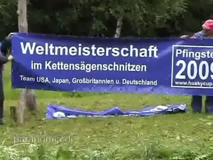 Foto: Weltmeisterschaft im Kettensägenschnitzen in Dorfchemnitz (1)